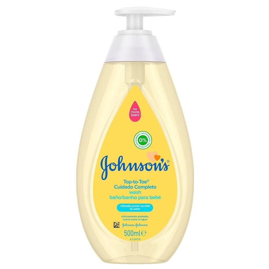 Johnsons Baby Top-to-toe 2 σε 1 Αφρόλουτρο & Σαμπουάν 500ml