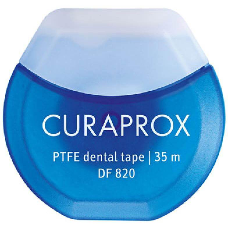 CuraproxDF 820 PTFE Dental TapeΟδοντική Ταινία 35 Μέτρα