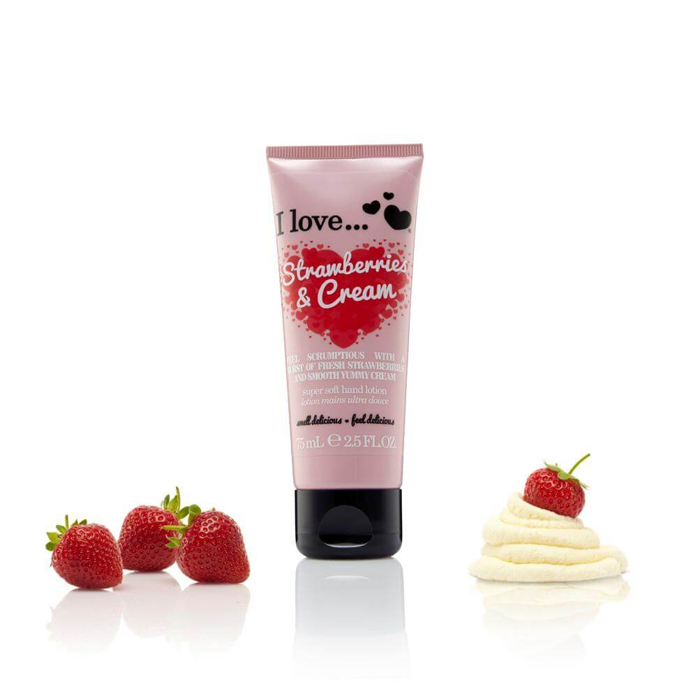 I love… Super Soft Hand Lotion Ενυδατική Κρέμα Χεριών 75ml – Raspberry&Blackberry
