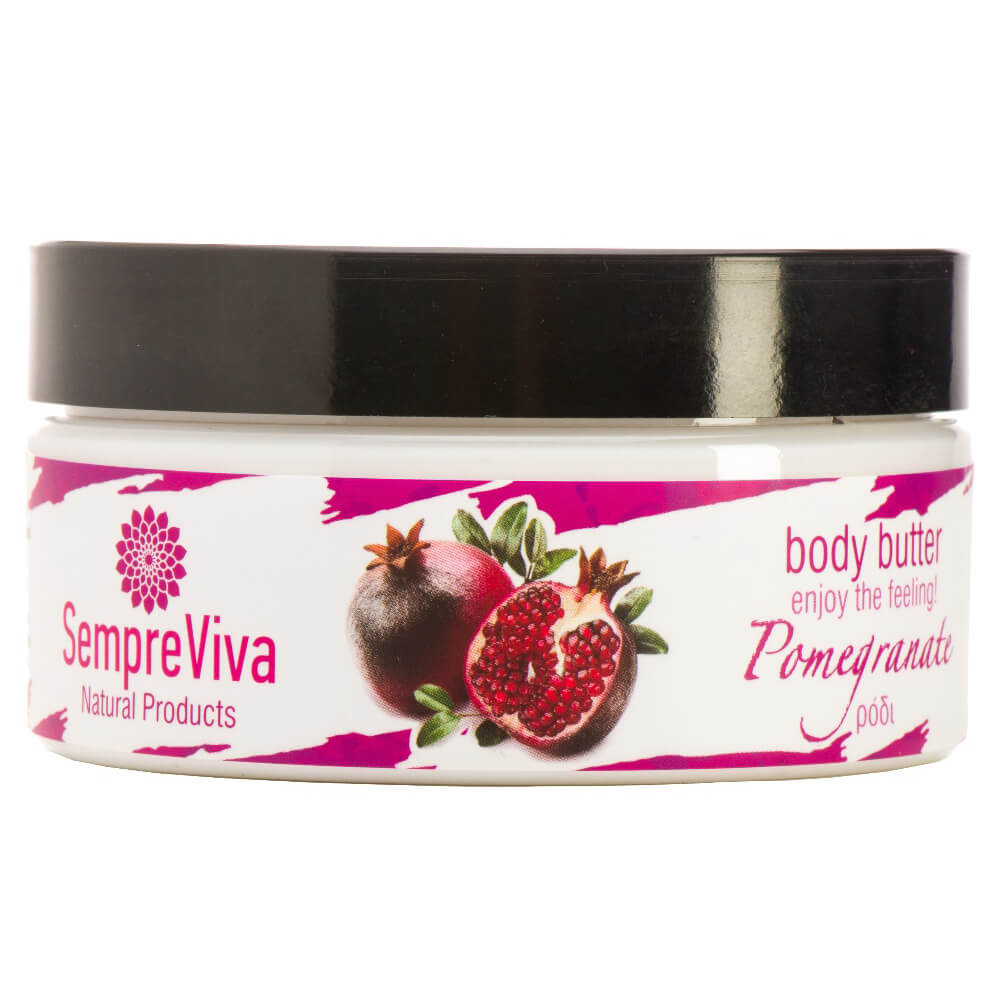 SempreViva Body Butter Pomegranate Κρέμα Σώματος Ρόδι 200g