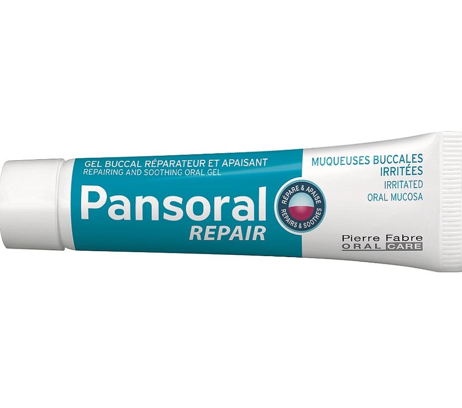 Pierre Fabre Pansoral Repair Ουλίτιδα Περιοδοντίτιδα Επανορθωτική και Καταπραϋντική Στοματική Γέλη 15ml