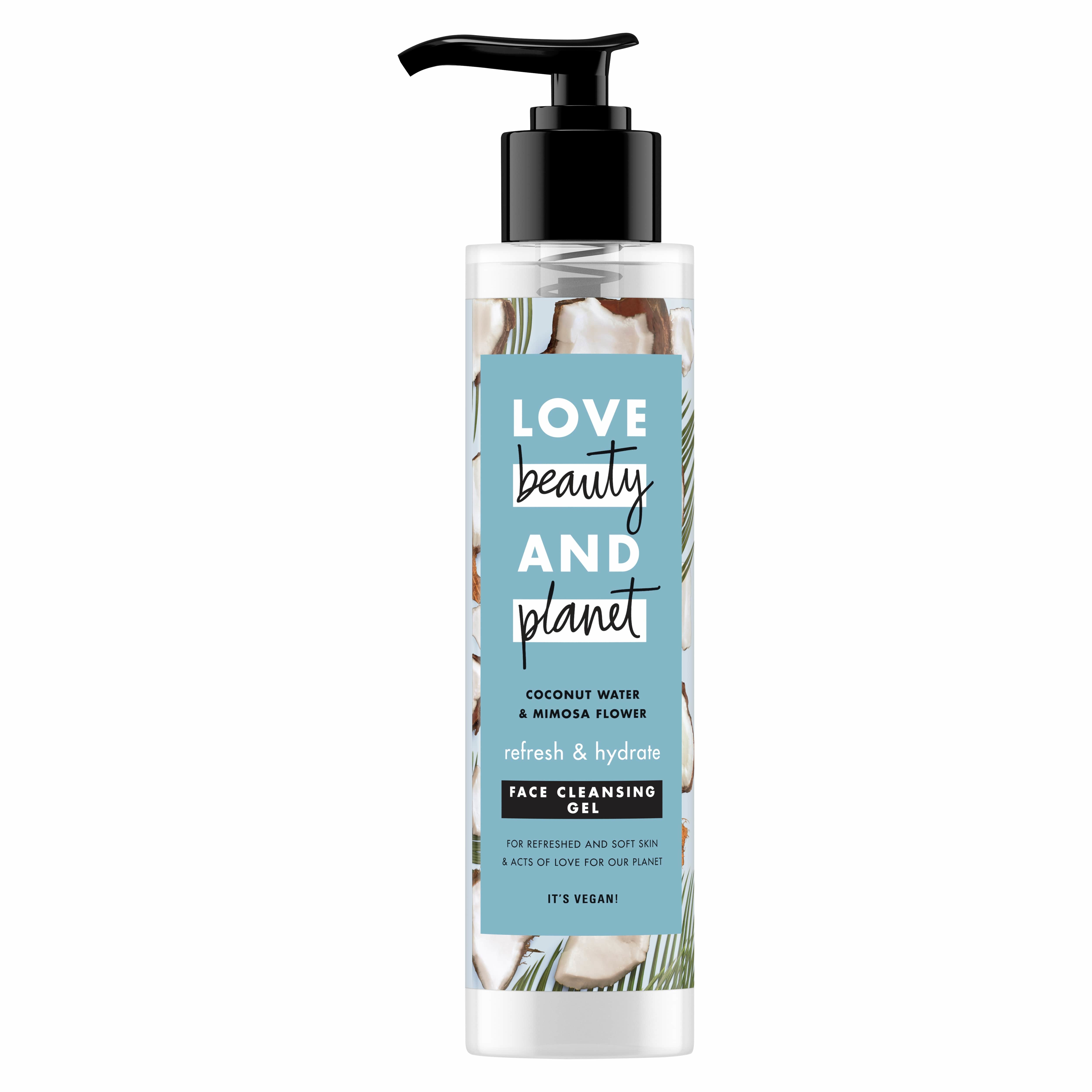 Love Beauty and Planet Face Cleancer Coconut, Καθαριστικό Προσώπου σε Μορφή gel 125ml