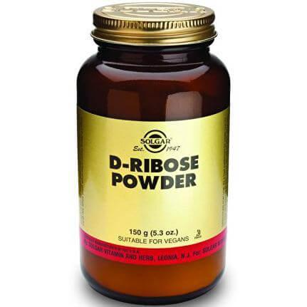 Solgar D-Ribose Συμπλήρωμα Διατροφής που Ενισχύει τη Δράση του Καρδιακού Μυός & του Μυϊκού Συστήματοςpowder 150g