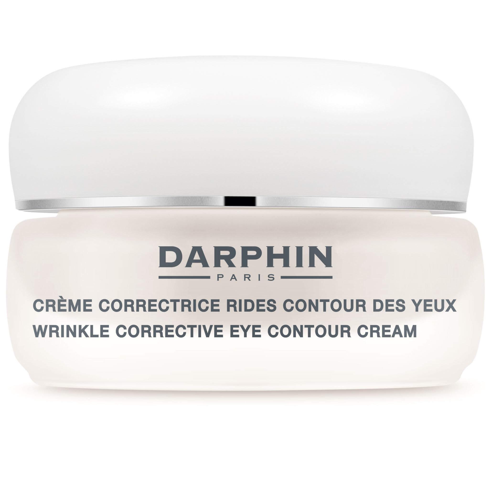 Darphin Wrinkle Corrective Eye Contour Cream Αντιρυτιδική Κρέμα Ματιών που Ανανεώνει Ορατά τη Φυσική Λάμψη 15ml