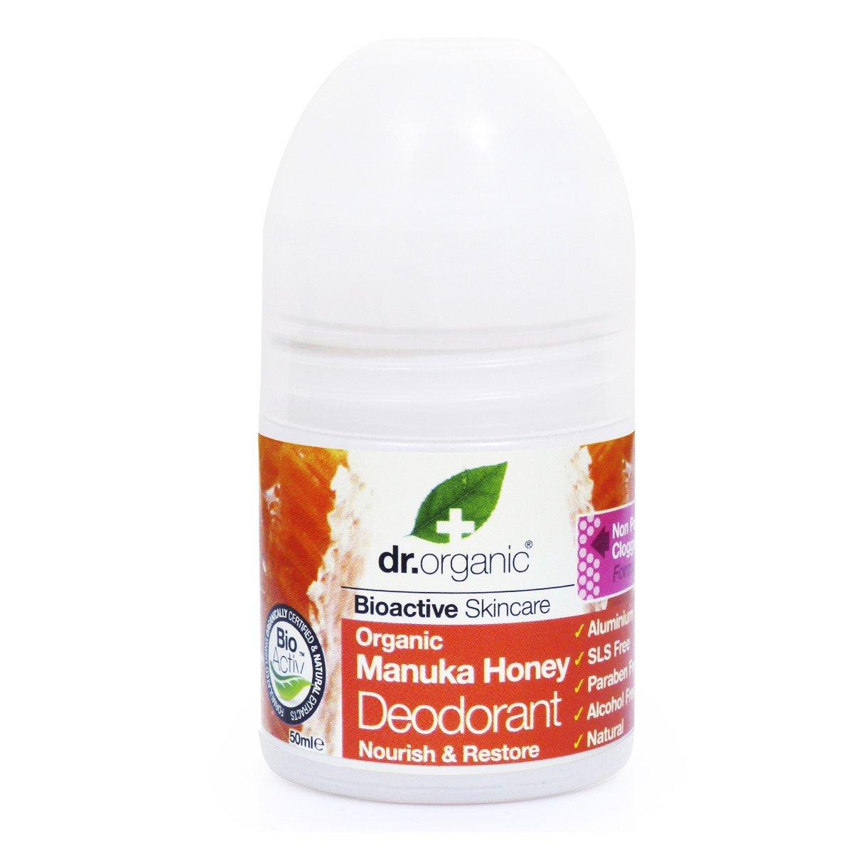Dr Organic Organic Manuka Honey Deodorant Αποσμητικό με Βιολογικό Μέλι Μανούκα 50ml