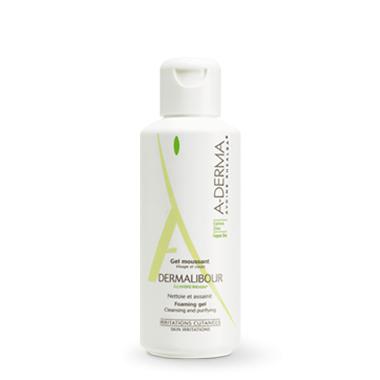 A-Derma Dermalibour Gel Moussant 250ml,Υγρό Καθαρισμού για Εύθραυστο Δέρμα που Είναι Επιρρεπές σε Ξηρούς ή Υγρούς Δερματικούς Ερ