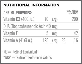 Quest BrightStart Vitamin D3 Drops & DHA Συμπλήρωμα Διατροφής για τη Σωστή Ανάπτυξη Βρεφών & Παιδιών έως 5 Ετών 20ml - Εικόνα 1