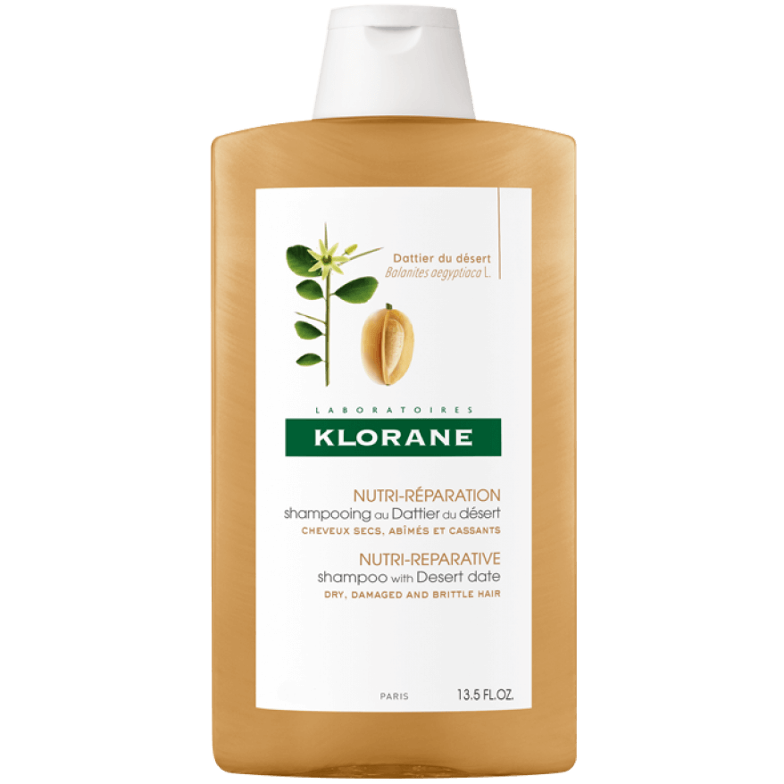 Klorane Desert Shampoo Σαμπουάν Με Χουρμά Για Ξηρά Μαλλιά Προσφορά -25% 200ml