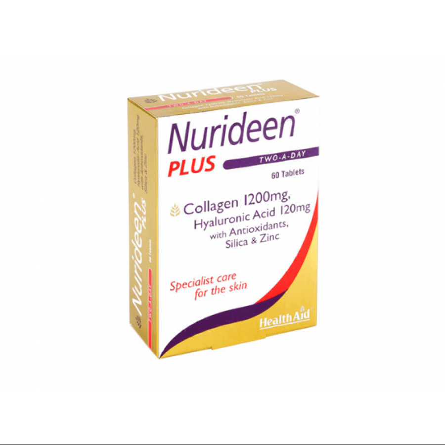 Health Aid Nurideen Plus Υδρολυμένο Κολλαγόνο 60tabs