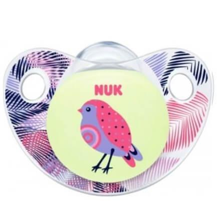 Nuk Trendline Night & Day Πιπίλα Καουτσούκ – Μέγεθος 3 (18-36 μηνών)