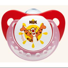 NUK Trendline Disney Πιπίλα Σιλικόνης Με Κρίκο Μεγέθη 1-2 – Μέγεθος 1 (0-6 μηνών)