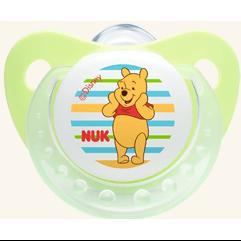 NUK Trendline Disney Πιπίλα Σιλικόνης Με Κρίκο Μεγέθη 1-2 – Μέγεθος 2 (6-18 μηνών)