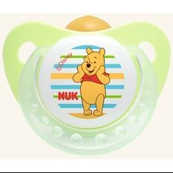 NUK Trendline Disney Πιπίλα Καουτσούκ Με Κρίκο Μεγέθη 1-2 – Μέγεθος 3 (18-36 μηνών)