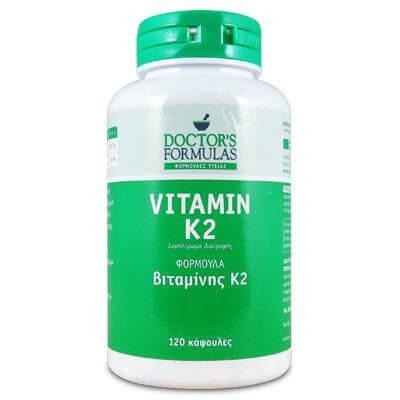 Doctors Formula Vitamin K2 Φόρμουλα για Οστά και Αγγεία 120caps