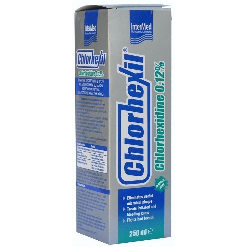 Chlorhexil 0.12% Mouthwash Αντιμικροβιακή Προστασία, Ανακούφιση και Φροντίδα 250ml