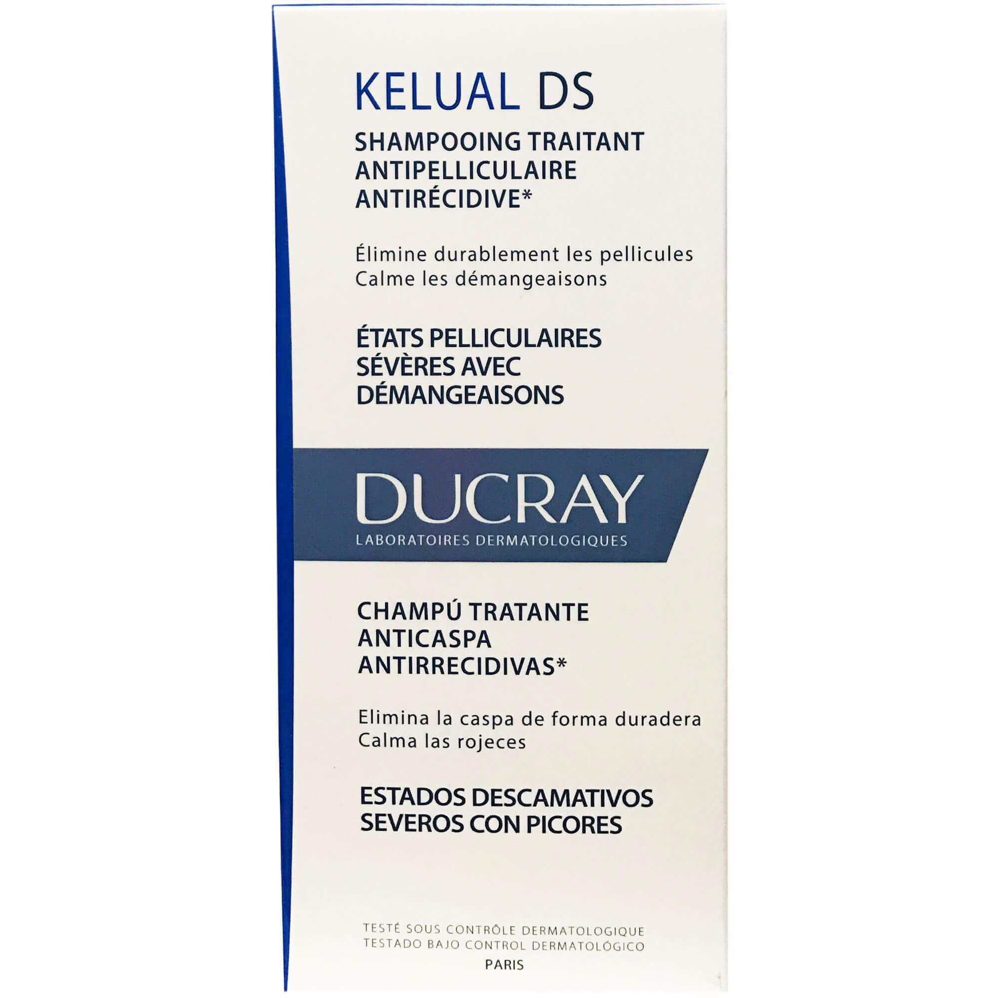 Ducray Kelual DS Shampooing Traintant Σαμπουάν Αγωγής Κατά της Πιτυρίδας 100ml Promo -15%