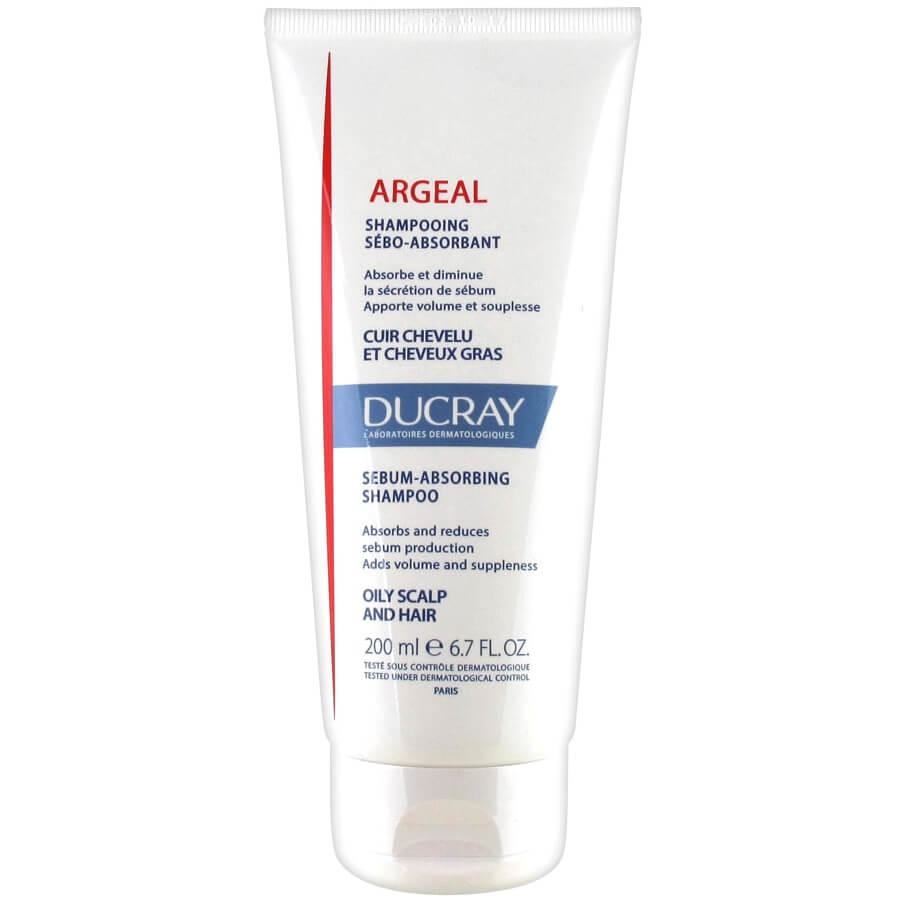 Ducray Argeal Shampooing Sebo-Absorabant Σμηγματο-Απορροφητικό Σαμπουάν για Λιπαρό Τριχωτό Κεφαλής &Λιπαρά Μαλλιά200ml