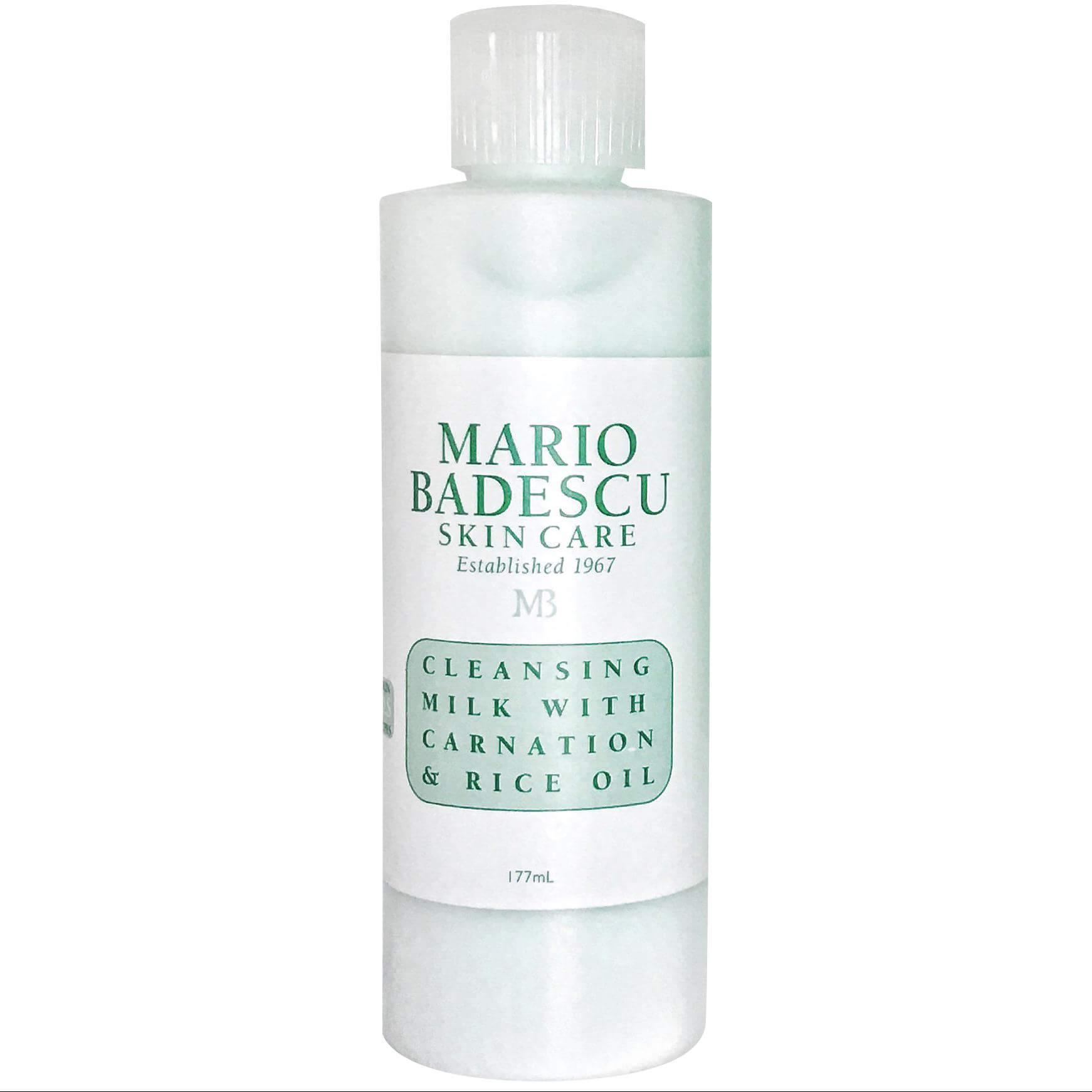 Mario Badescu Cleansing Milk With Carnation & Rice Oil Γαλάκτωμα Καθαρισμού & Ντεμακιγιάζ, Εμπλουτισμένο με Έλαιο Ρυζιού 177ml