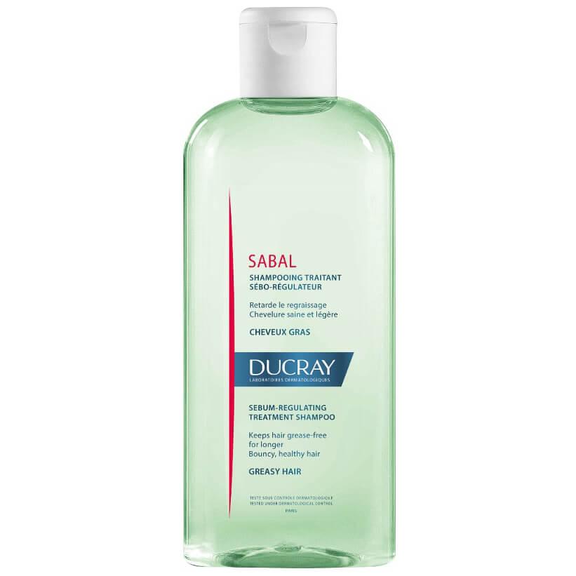 Ducray Sabal Shampooing Traitant Seboreducteur Σαμπουάν για το Λιπαρό Τριχωτό Κεφαλής & τα Λιπαρά Μαλλιά 200ml