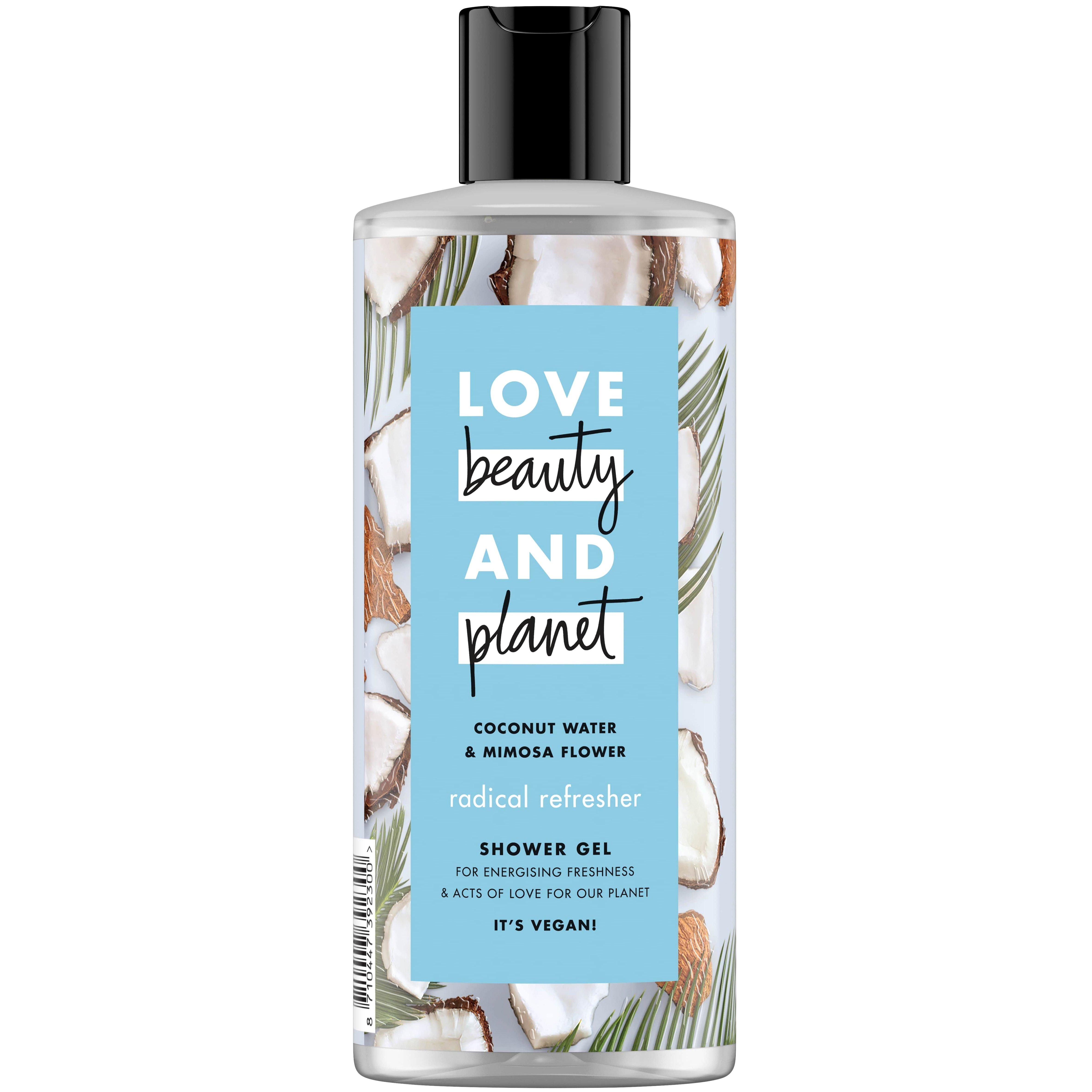 Love Beauty and Planet Shower gel Coconut Water & Mimosa Flower , Αφρόλουτρο 500ml