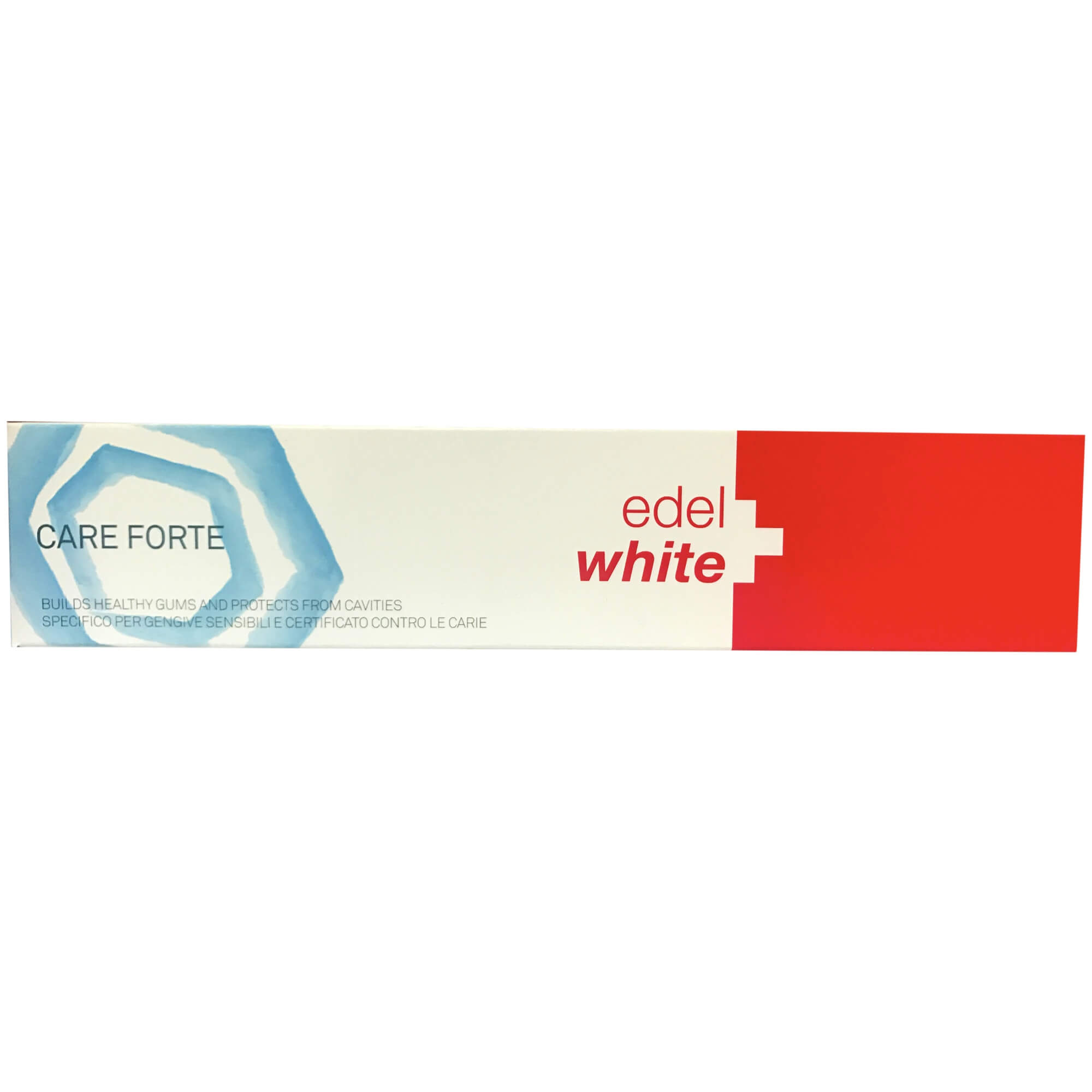 Edel White Care ForteΟδοντόκρεμα που Προστατεύει τα Ευαίσθητα Δόντια & Φροντίζει τα Ούλα 75ml