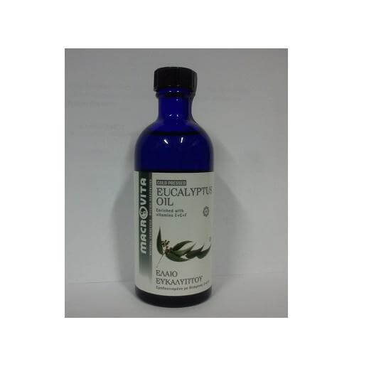 Macrovita Έλαιο Ευκαλύπτου Για Επουλωτική Ανακουφιστική Αποσμητική Και Εντομοαπω καλοκαίρι   κουνούπια   έντομα   εντομοαπωθητικά γαλακτώματα   spray   βραχιολάκ