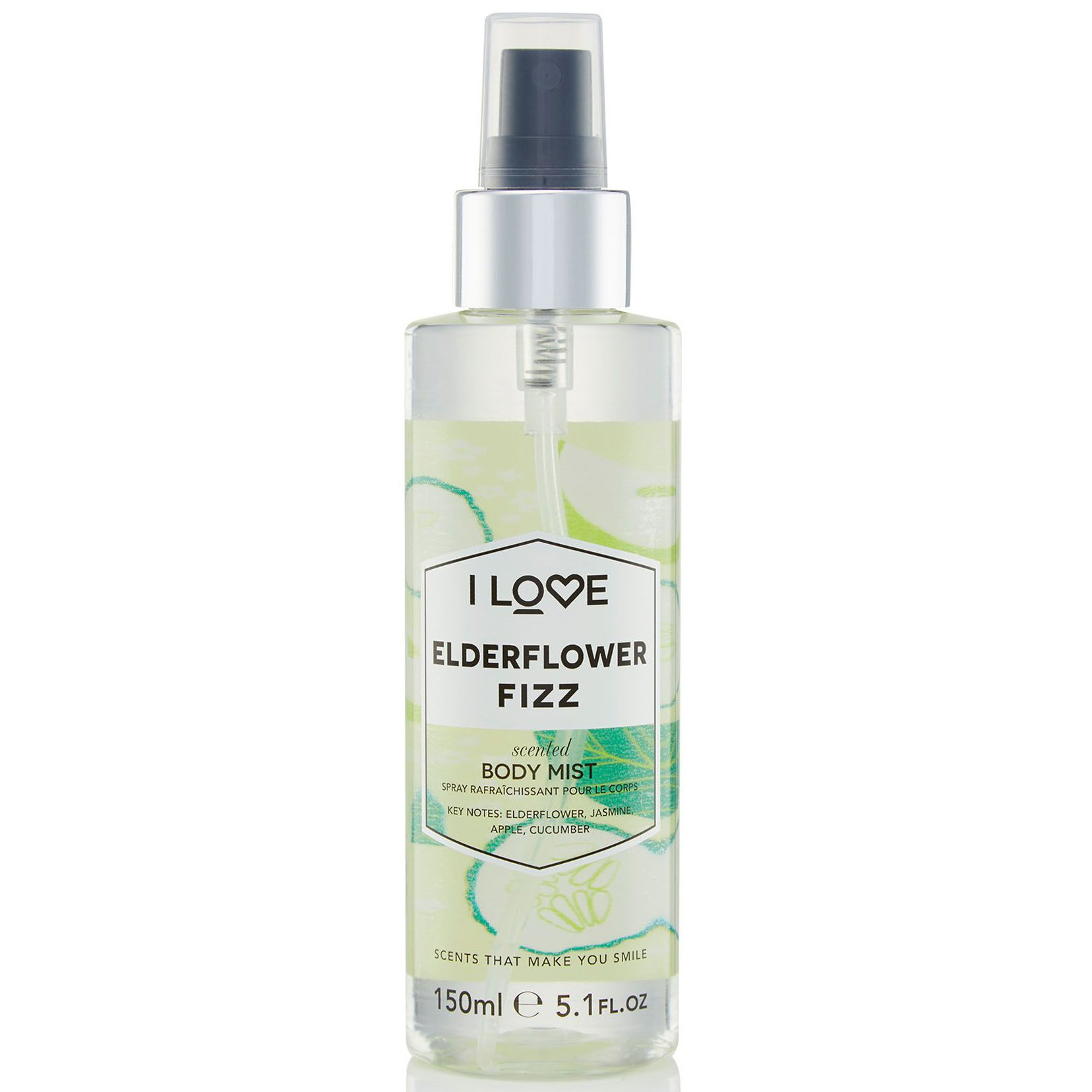 I love... Elderflower Fizz Scented Body Mist Αρωματικό Spray Σώματος με Δροσερές ομορφιά   αρώματα   αρώματα για τη γυναίκα