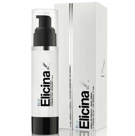 Elicina Cream Eco Θρεπτική Αναπλαστική Κρέμα Από Σαλιγκάρι Για Κανονικό Δέρμα 50 ομορφιά   ενυδάτωση προσώπου   τροφή και θρέψη