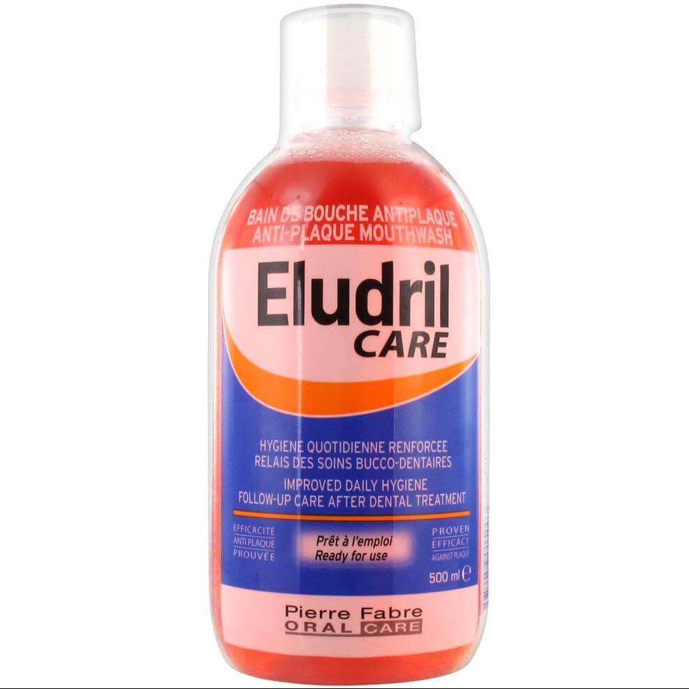 Elgydium Eludril Care Στοματικό Διάλυμα 500 ml