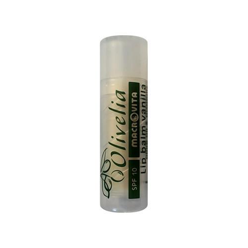 Macrovita Macrovita Lip Balm Spf10 Προστασία Χειλιών Με Γεύση Βανίλια 4gr