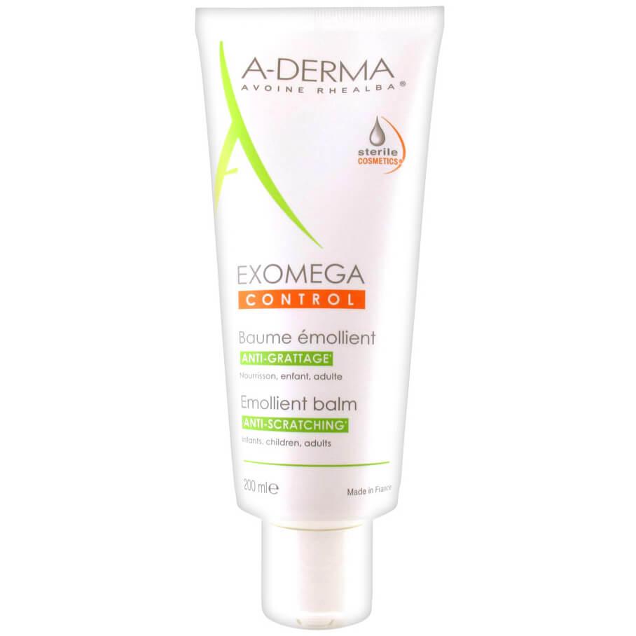 A-Derma Exomega Control Baume Émollient Μαλακτική Φροντίδα Πλούσιας Υφής για το Ατοπικό & Πολύ Ξηρό Δέρμα 200ml