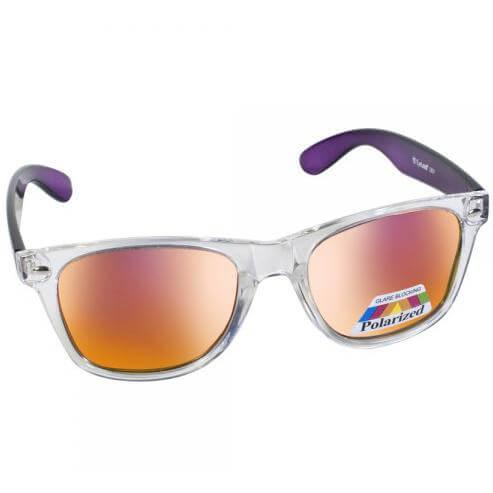 Eyelead Γυαλιά Ηλίου Unisex με Διάφανο – Μωβ Σκελετό L631