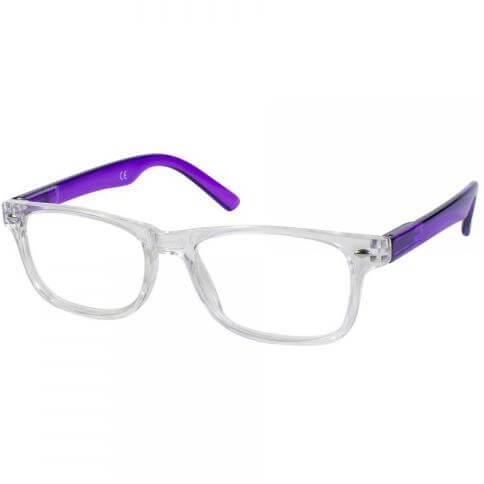 11afc47418 Pharm24 Eyelead Γυαλιά Διαβάσματος Unisex Διάφανο Μωβ E147 - 1