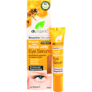 Dr Organic Organic Royal Jelly Eye Serum Αντιγηραντικό Σέρουμ 15ml