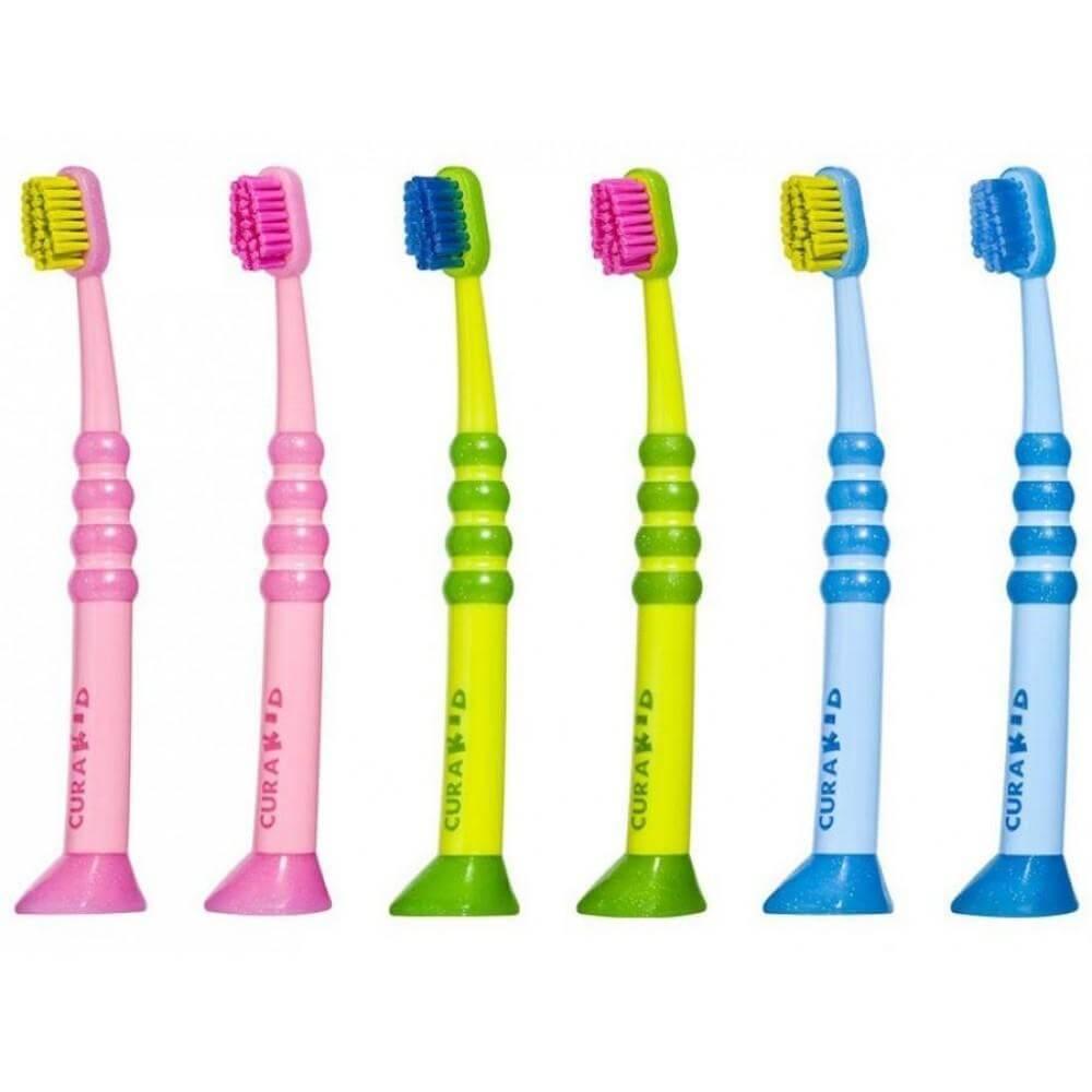 Curaprox Curakid CK 4260 UltraSoft Πολύ Μαλακή Παιδική Οδοντόβουρτσα – πράσινο