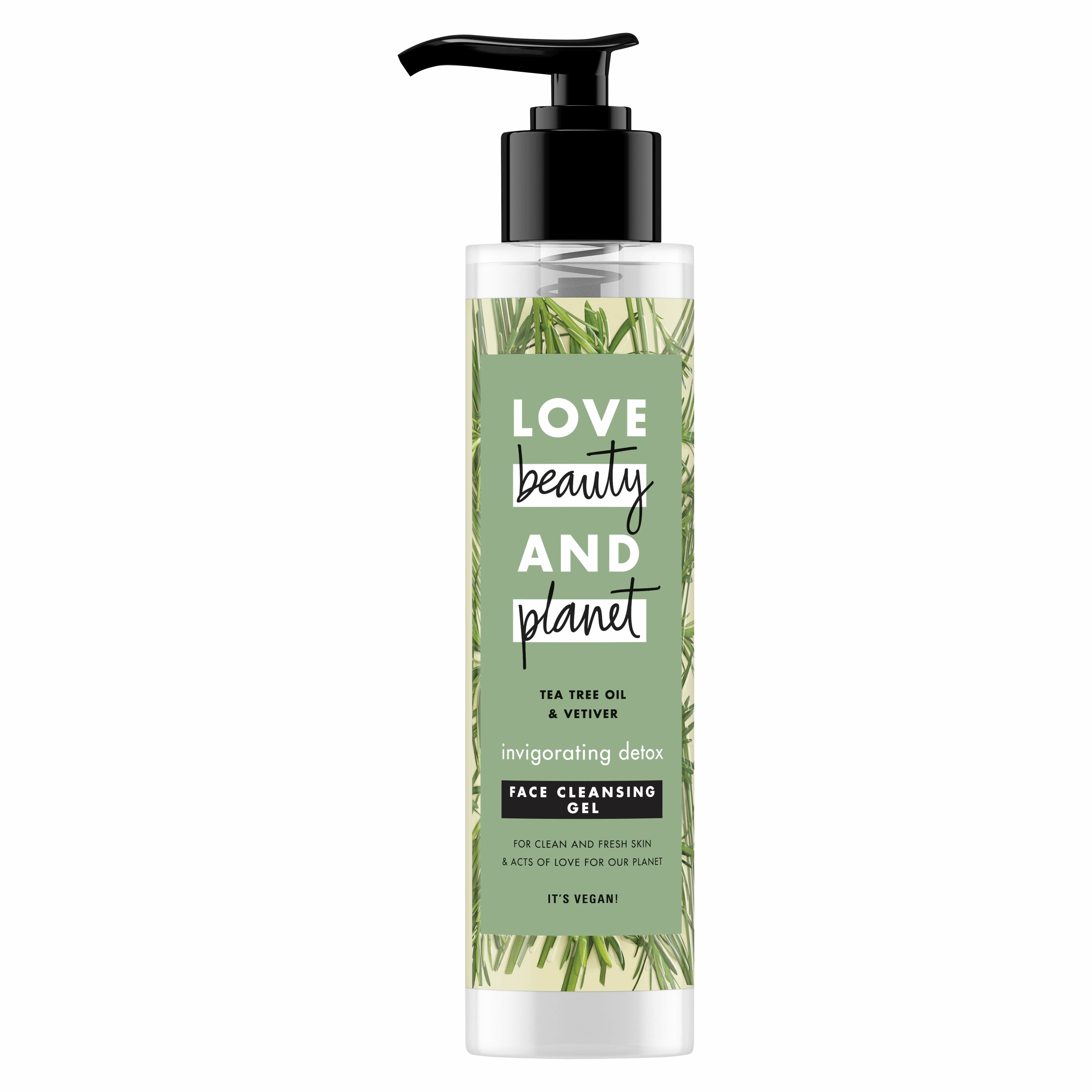 Love Beauty and Planet Face Cleancer Vetiver, Καθαριστικό Προσώπου σε Μορφή gel 125ml