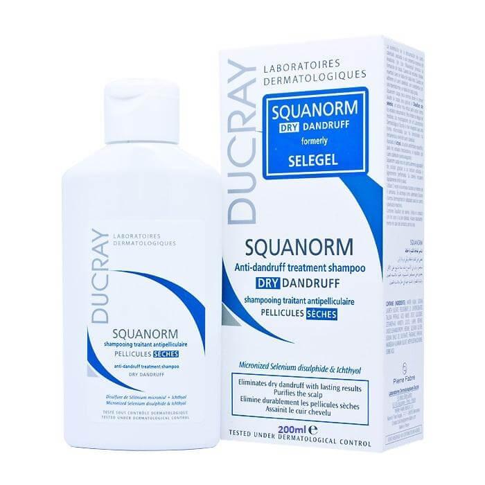 Ducray Squanorm Shampoo για Ξηρή Πιτυρίδα 200ml