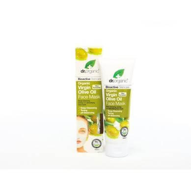 Dr Organic Organic Virgin Olive Oil Face Mask Μάσκα Προσώπου με Βιολογικό Παρθένο Λάδι Ελιάς 125ml