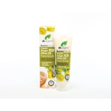 Dr Organic Organic Virgin Olive Oil Face Scrub Κρέμα Απολέπισης Προσώπου με Βιολογικό Παρθένο Λάδι Ελιάς 125ml