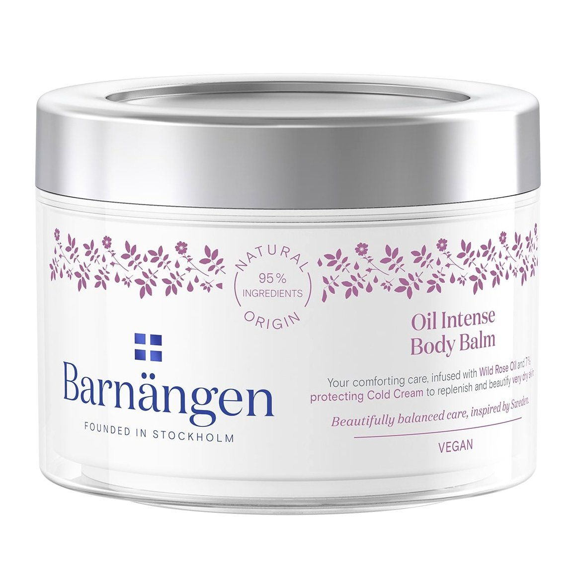 Barnangen Oil Intense Body Balm με Περιποιητικές και Προστατευτικές Ιδιότητες 200ml