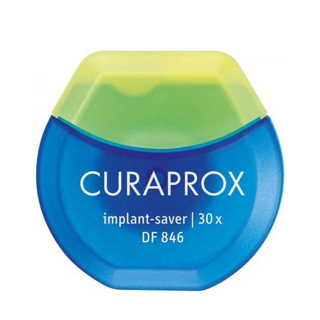 Curaprox DfF846 Implant – SaverΟδοντικό Νήμα για Εμφυτεύματα 30 Χρήσεων