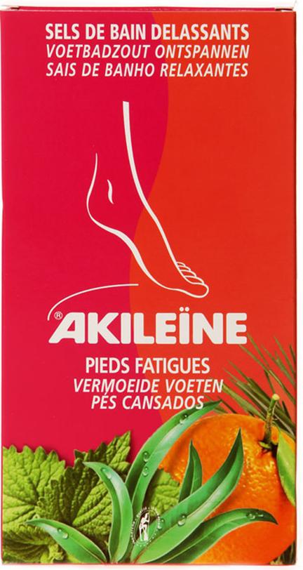 Vican Akileine Sels De Bain Άλατα Για Ποδόλουτρο Ανακουφίζουν Τα Κουρασμένα & Πρησμένα Πόδια 300gr