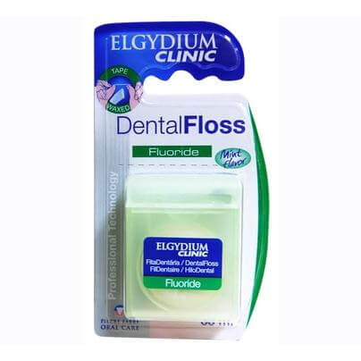 Elgydium Ελαφρώς Κηρωμένο Οδοντικό Νήμα 35m Με Φθόριο