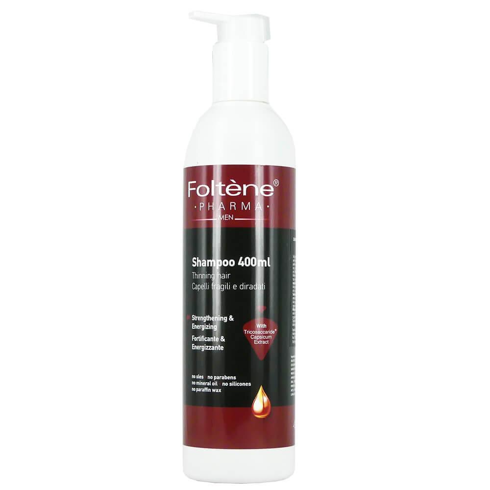 Foltene Pharma Men Shampoo Δυναμωτικό Σαμπουάν Κατά της Τριχόπτωσης για Άνδρες 400ml