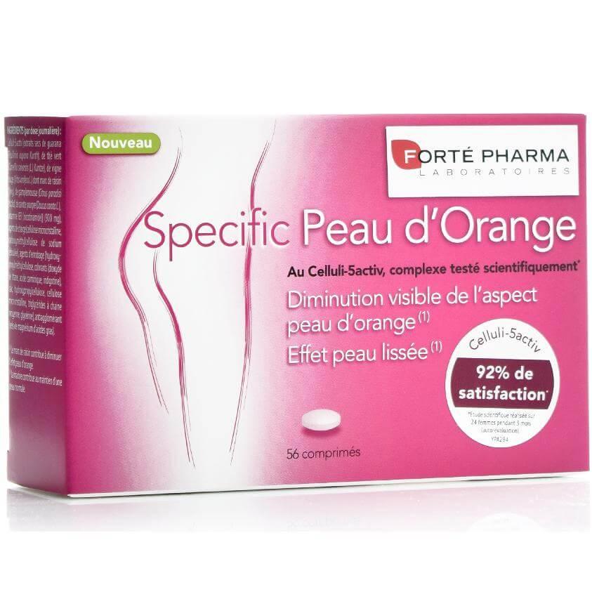 Forte Pharma Specific Peau d Orange Ισχυρό Συμπλήρωμα Διατροφής για την Αντιμετώπιση της Κυτταρίτιδας 56 tabs