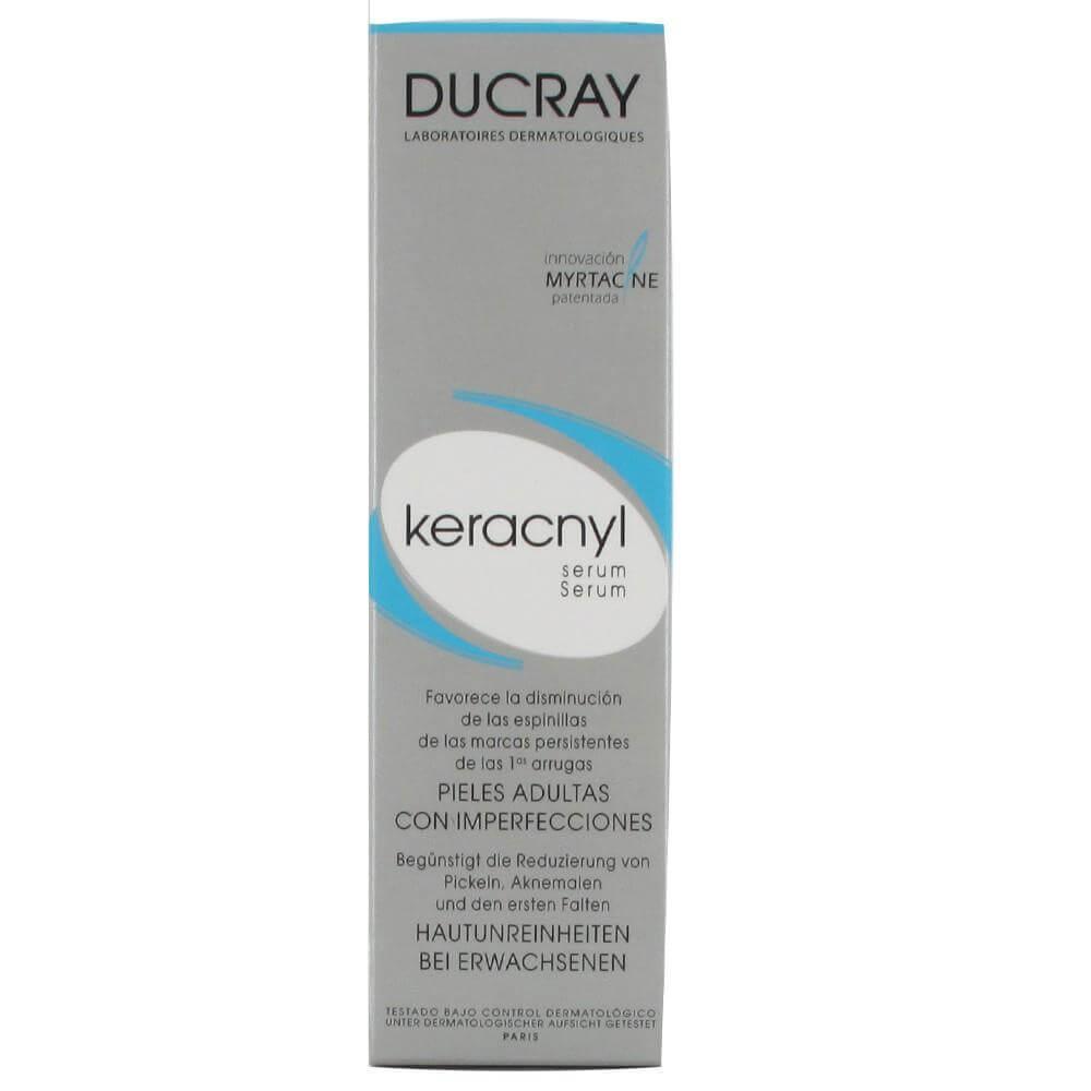 Ducray Keracnyl Serum Ευνοεί την Μείωση των Ατελειών των Επίμονων Σημαδιών & των Πρώτων Ρυτίδων 30ml