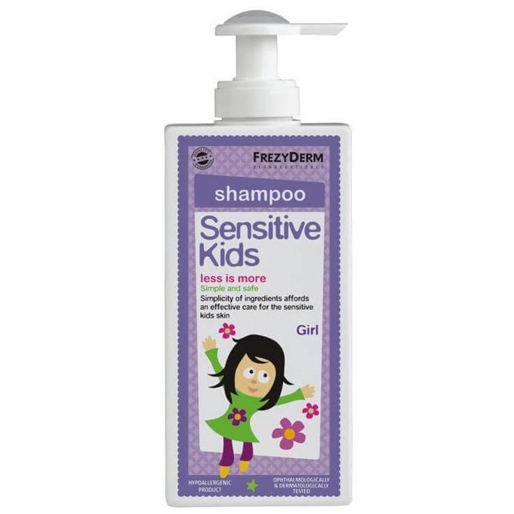 Frezyderm Sensitive Kids Shampoo for Girls Εξειδικευμένο Σαμπουάν για Κορίτσια 200ml