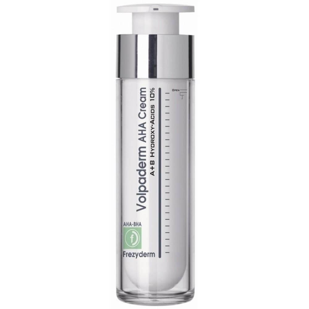 Frezyderm Volpaderm AHA Cream Κρέμα Προσώπου με Α & Β Υδρό-οξύ-οξέα για Βραδινή Χρήση50ml