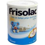 Nounou Frisolac Γάλα Για Βρέφη Μέχρι Τον 6ο Μήνα Σε Σκόνη 800 gr