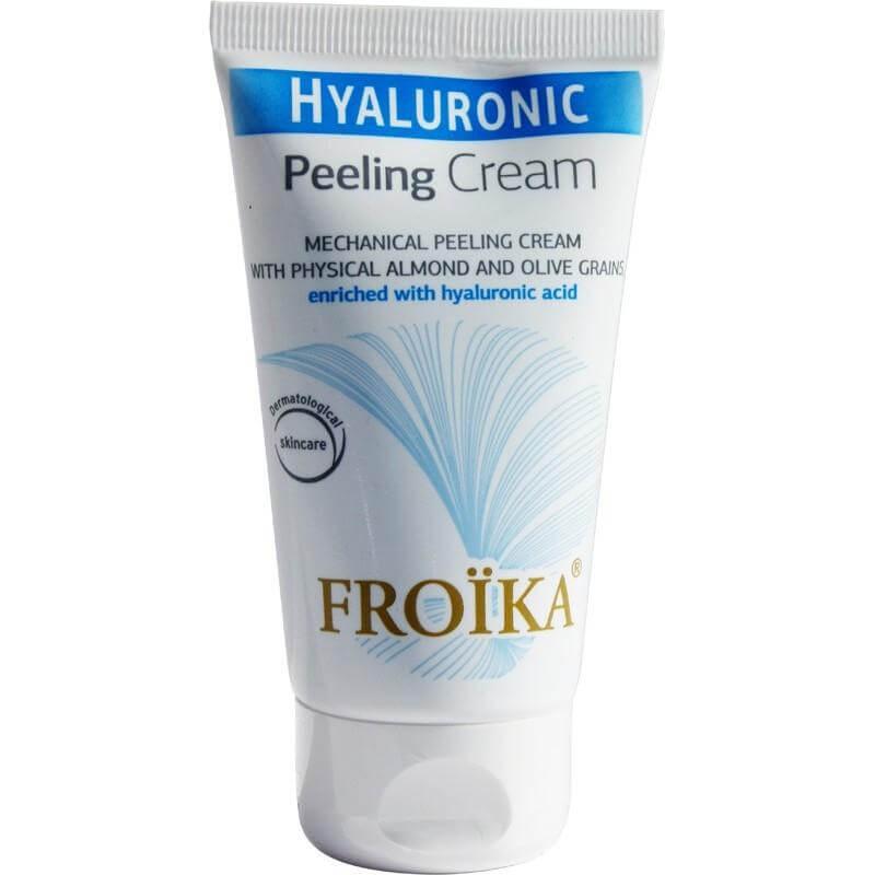 Froika Hyaluronic Peeling Cream Κρέμα Peeling Προσώπου Για Βαθύ Καθαρισμό & Απολέπιση 75ml